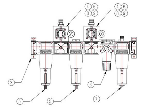 Air Manifold Drawing