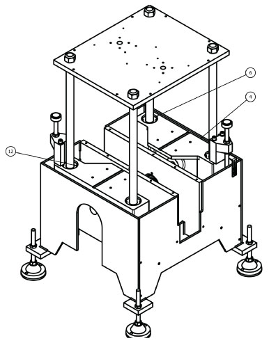 Trimmer Base Assembly Drawing View B